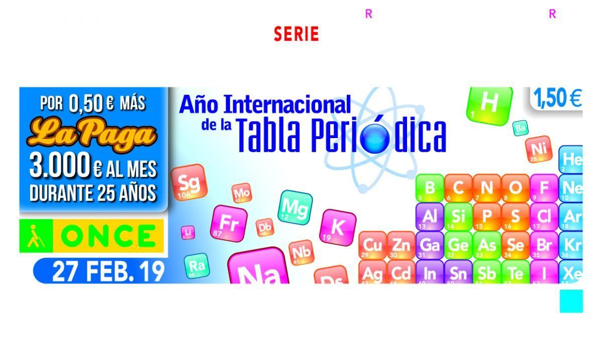 ACTO DE PRESENTACIÓN CUPÓN CONMEMORATIVO TABLA PERIÓDICA EN LA SEDE DEL COLEGIO DE QUÍMICOS DEL SUR EN SEVILLA